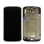 החלפת מסך LCD+מגע מקורי LG Nexus 4 כולל מסגרת