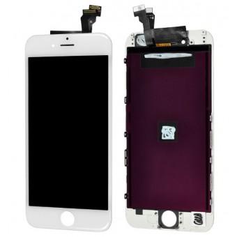 החלפת מסך LCD+מגע Apple iPhone 6 אפל כולל מסגרת