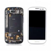 החלפת מסך LCD+מגע מקורי Samsung Galaxy S3 Mini סמסונג כולל מסגרת